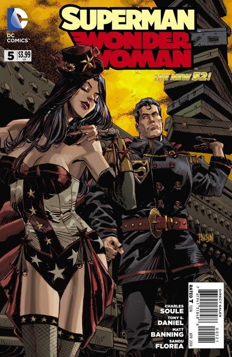Superman / Wonder Woman #5 Steampunk Variant