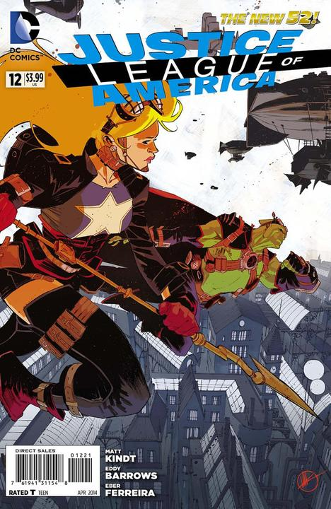 Justice League of America #28 Steampunk Variant