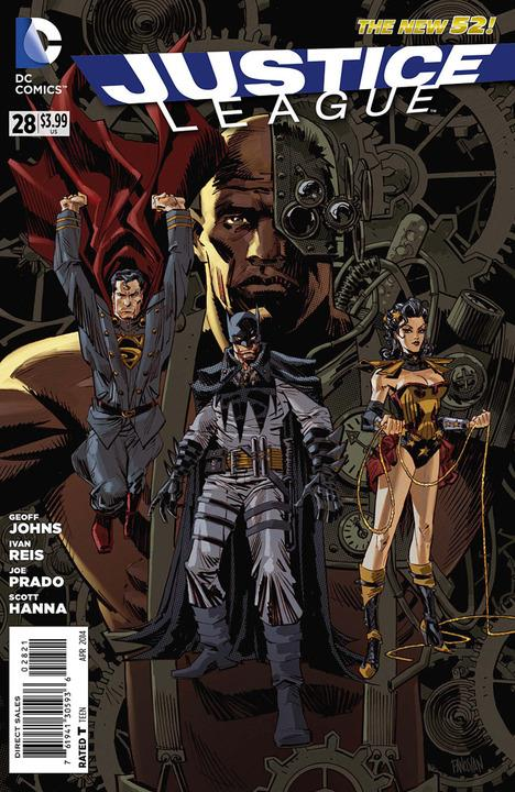 Justice League #28 Steampunk Variant
