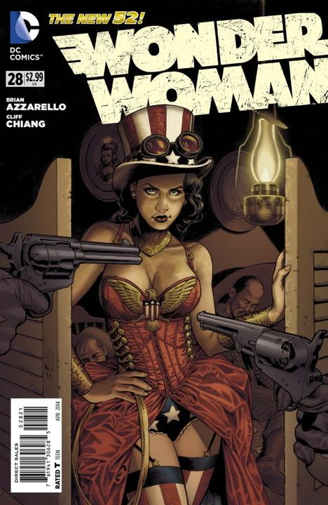 Wonder Woman #28 Steampunk Variant