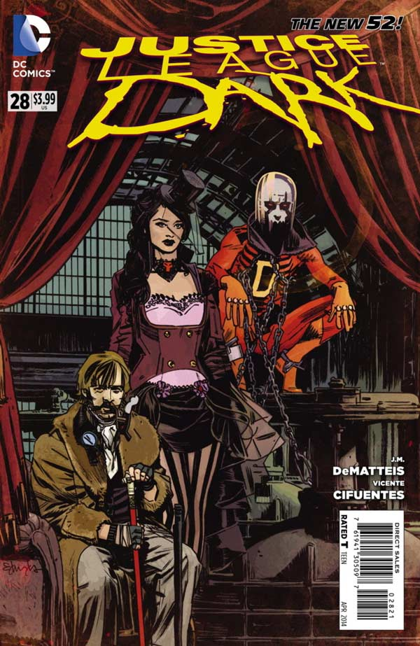Justice League Dark #28 Steampunk Variant