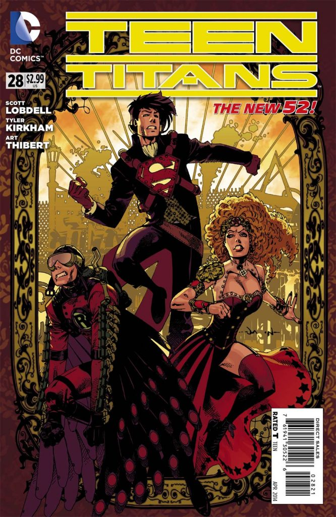 Teen Titans #28 Steampunk Variant