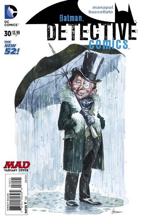 Detective Comics #30 MAD Variant