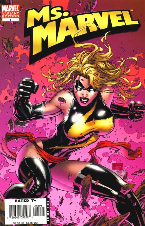 Ms Marvel #1 Michael Turner Variant