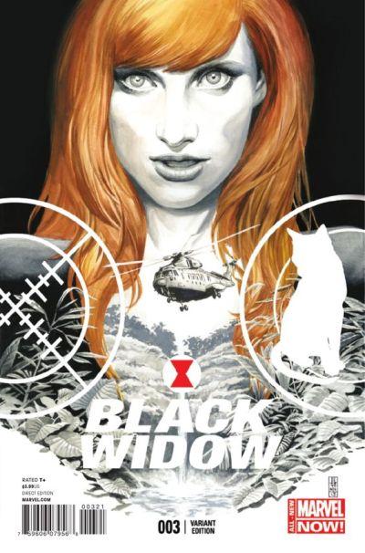 Black Widow #3 J. G. Jones 1:50 Variant
