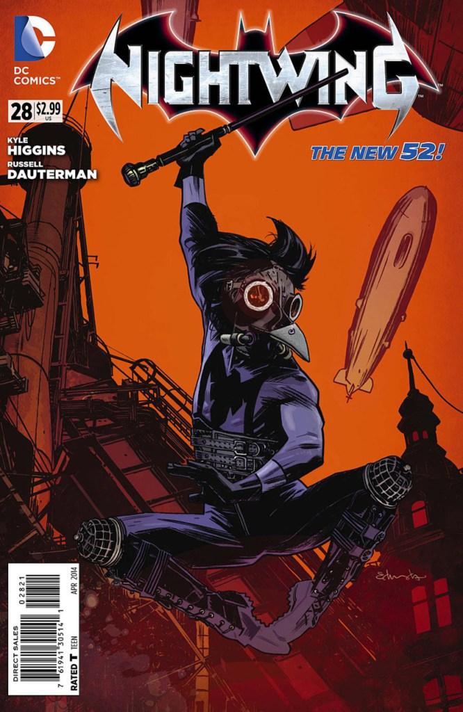 Nightwing #28 Steampunk Variant