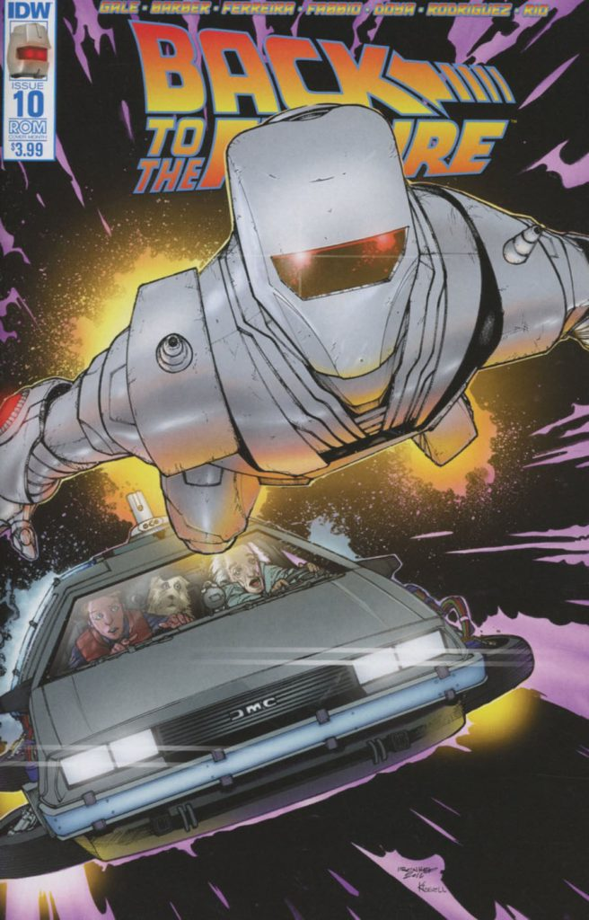 Back to the Future #10 Rom Sub Cover