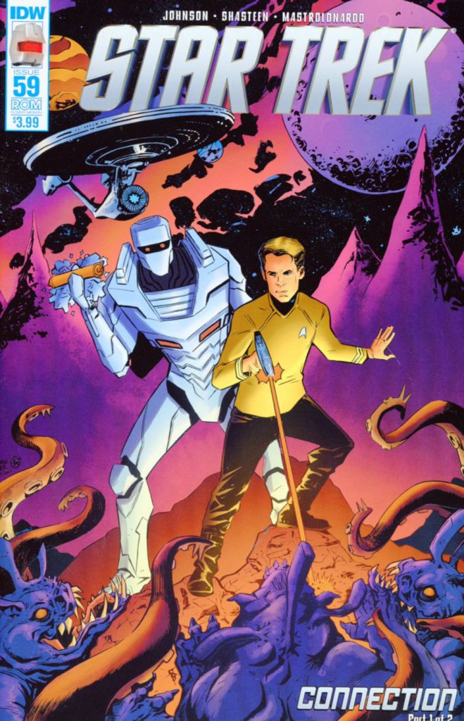 Star Trek #59 Rom Sub Cover