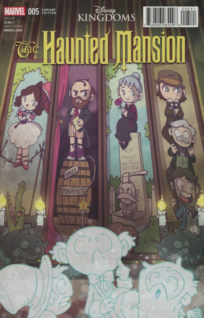 Haunted Mansion #5 Katie Cook 1:10 Variant
