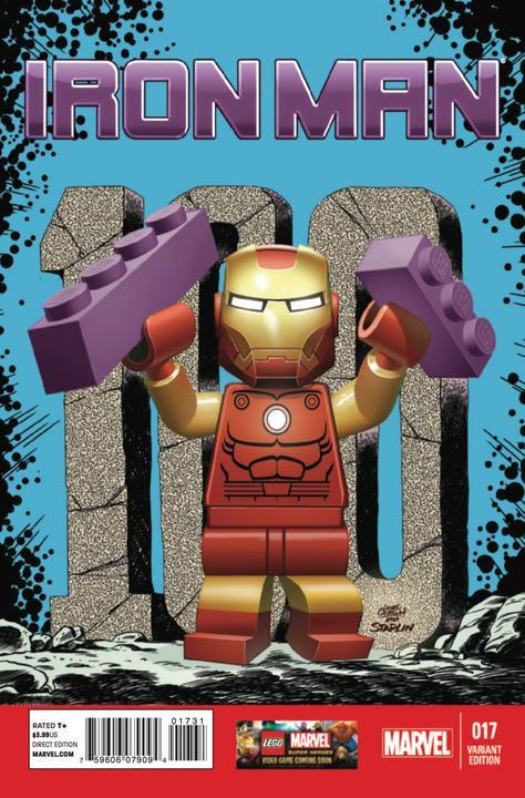 Iron Man #17 Lego Variant