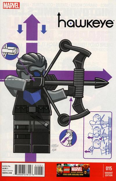 Hawkeye #15 Lego Variant
