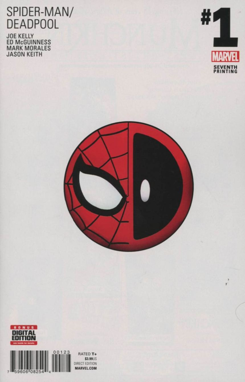 Spider-Man / Deadpool #1 7th Printing