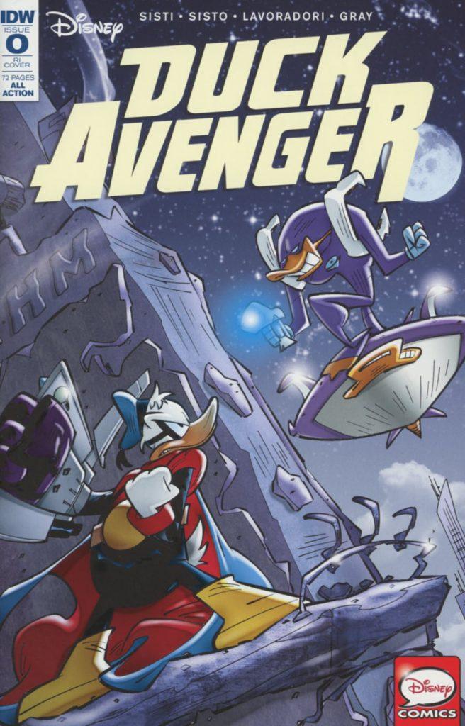 Duck Avenger #0 1:10 Variant