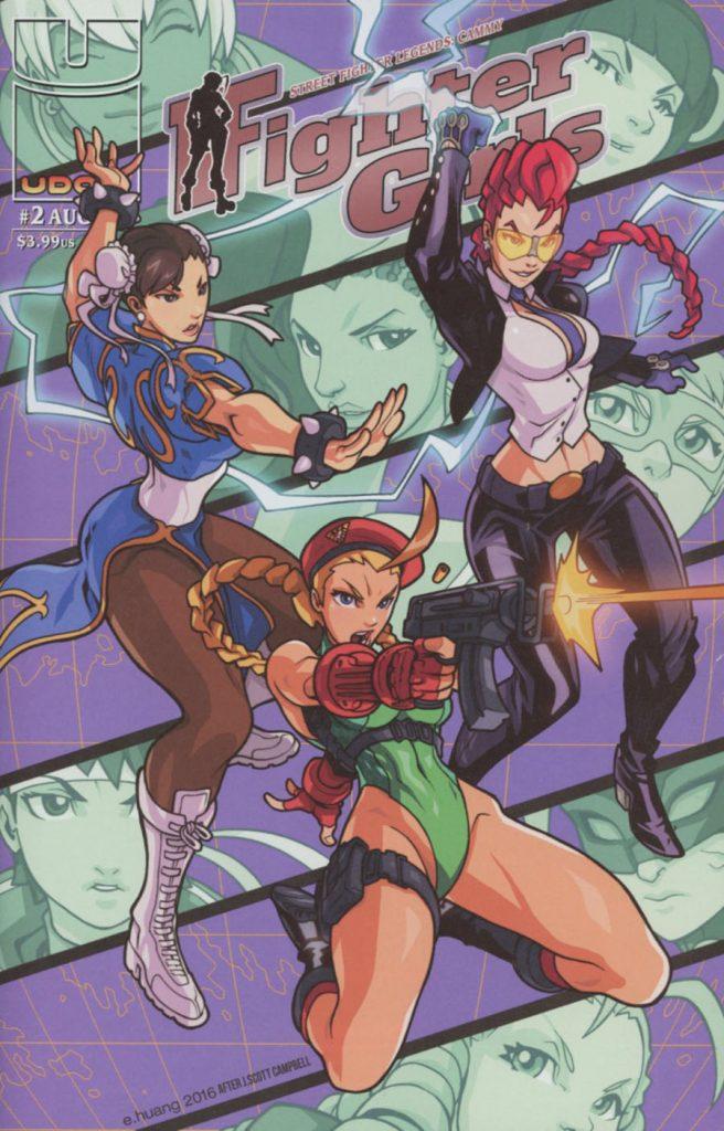 Street Fighter Legends Cammy #2 Homage Variant