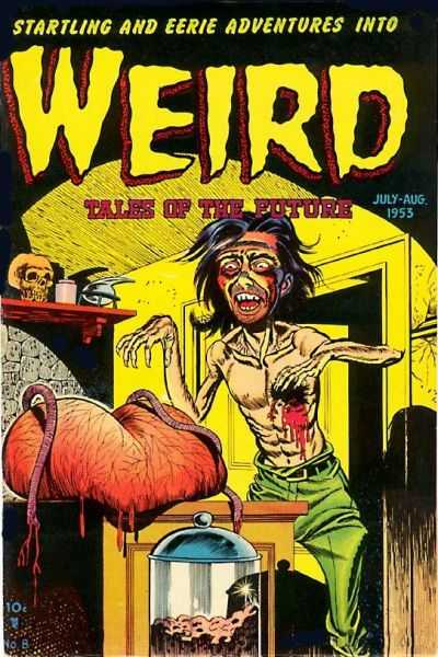 WEIRD TALES OF THE FUTURE #8