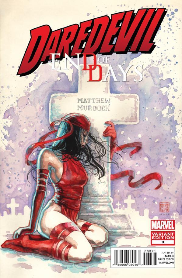 Daredevil: End of Days #3 Mack variant