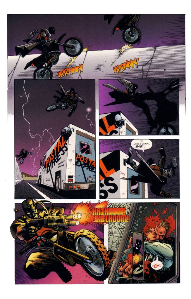 This might well be my favorite action sequence in comic form ever!!!