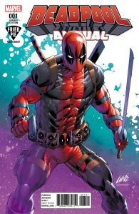 Deadpool Annual #1 Liefeld Fried Pie Variant