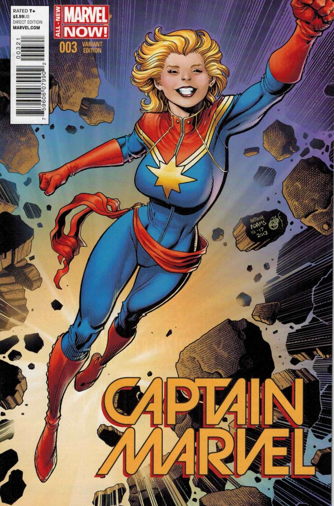 Captain Marvel #3 1:25 Art Adams Variant