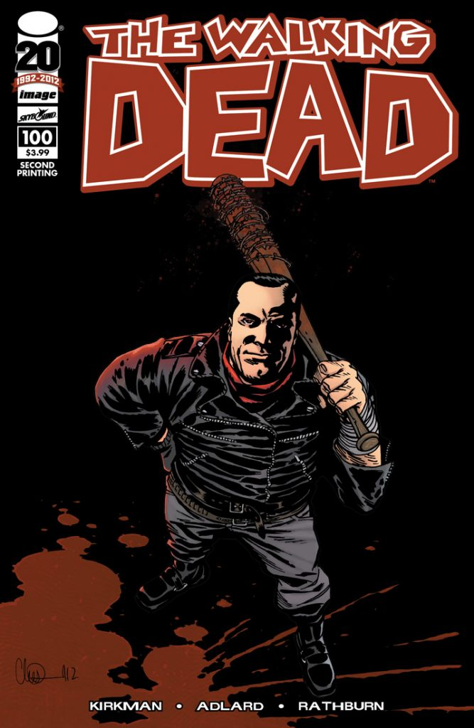 Walking Dead #100 2nd Printing
