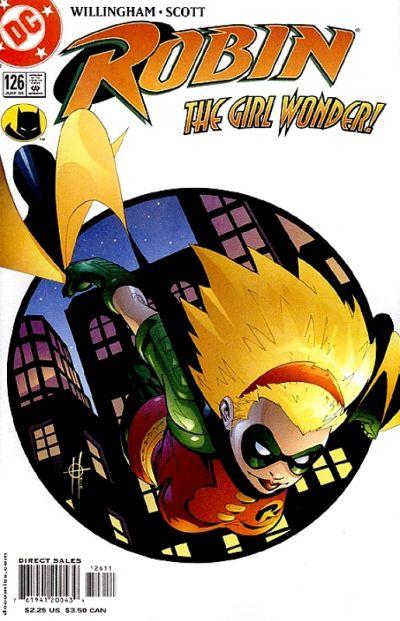 Robin # 126 (1st as Robin)