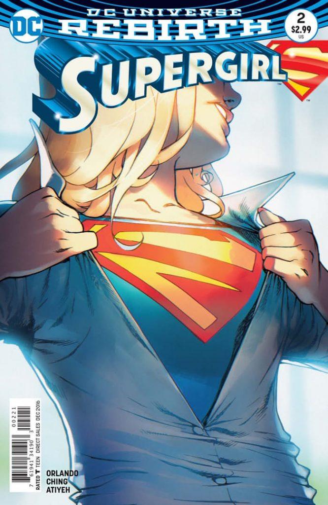 Supergirl #2 Bengal Variant