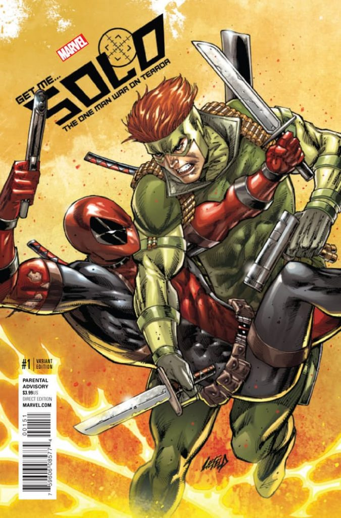 Solo #1 Rob Liefeld 1:50 Variant