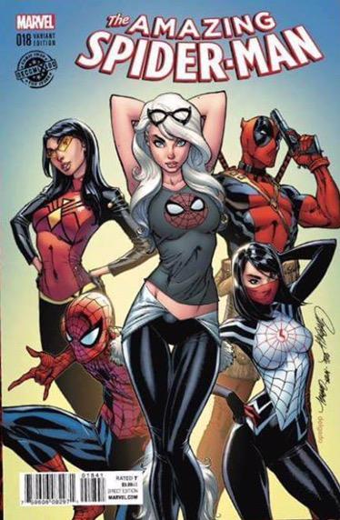 Amazing Spider-Man #18 JSC La Mole Variant