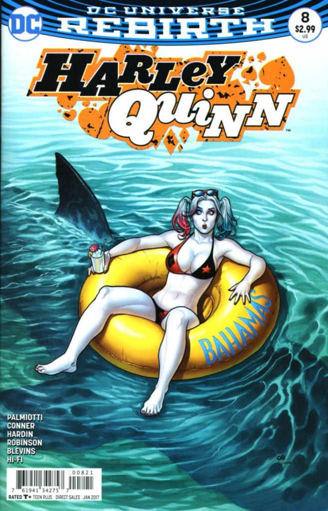 Harley Quinn #8 Frank Cho Variant