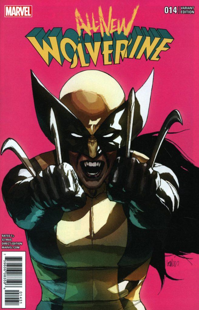 All-New Wolverine #14 Leinil Francis Yu 1:25 Variant