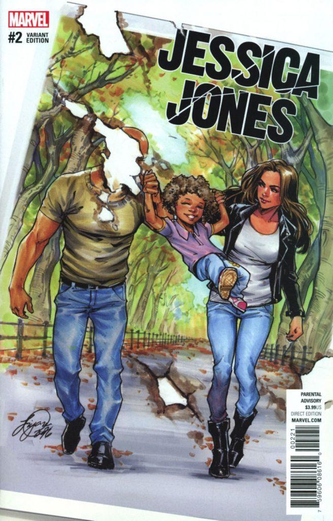Jessica Jones #2 Siya Oum 1:25 Variant