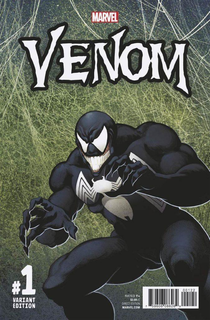 Venom #1 Todd McFarlane 1:1000 Variant