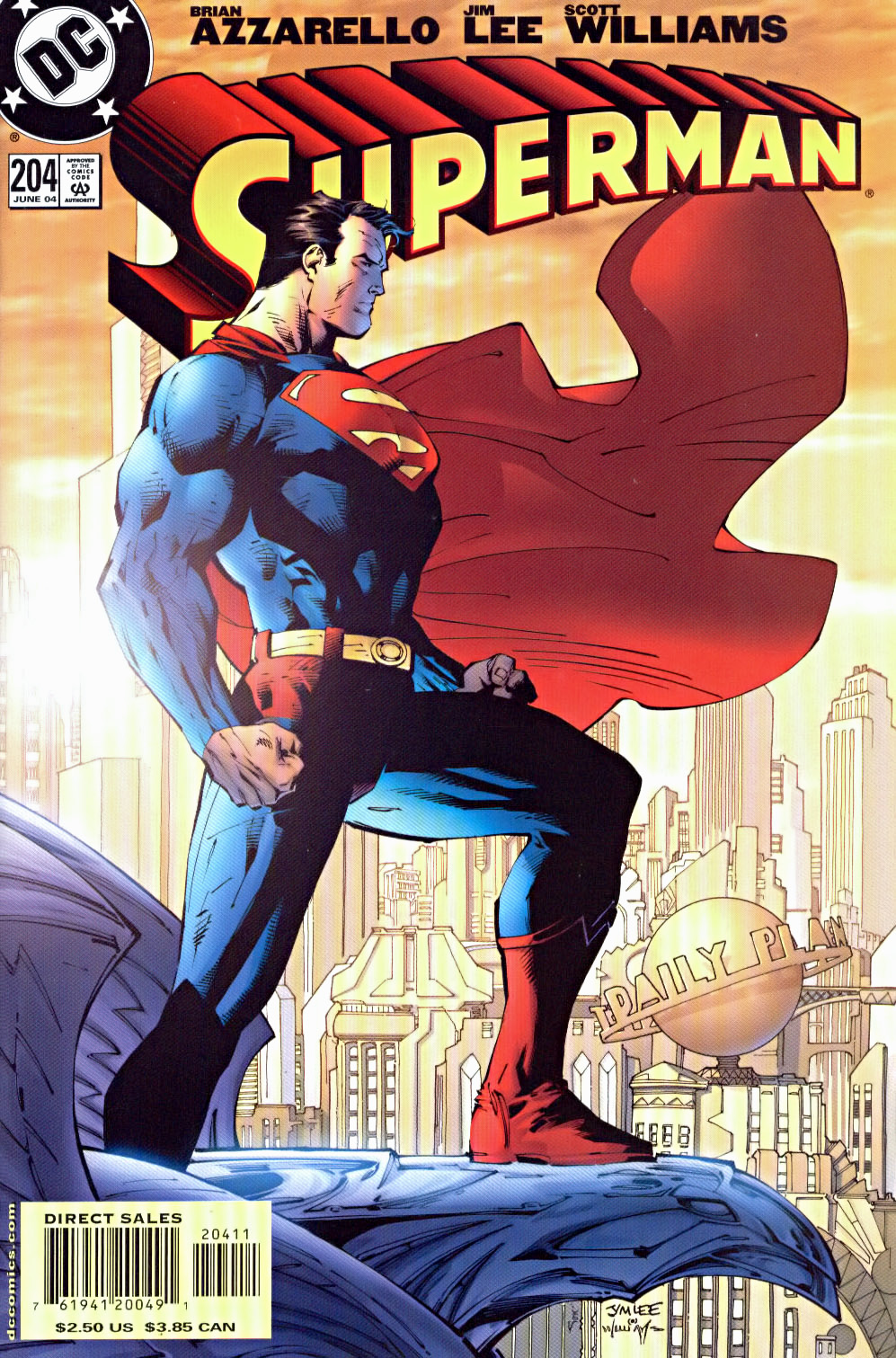Superman Comic Book Cover Art : Jim lee comic book speculation and investing