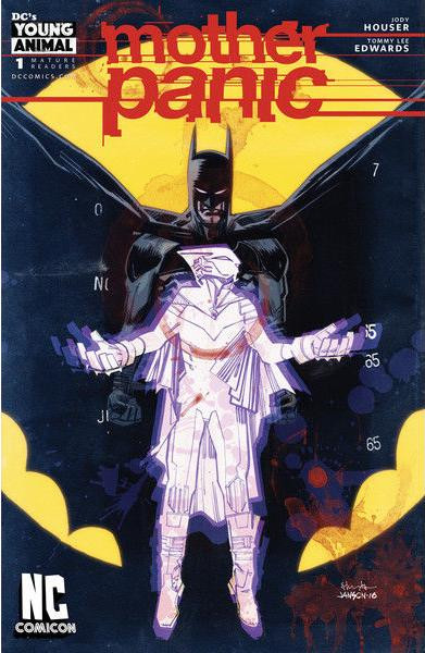Mother Panic #1 NC Comic Con Variant