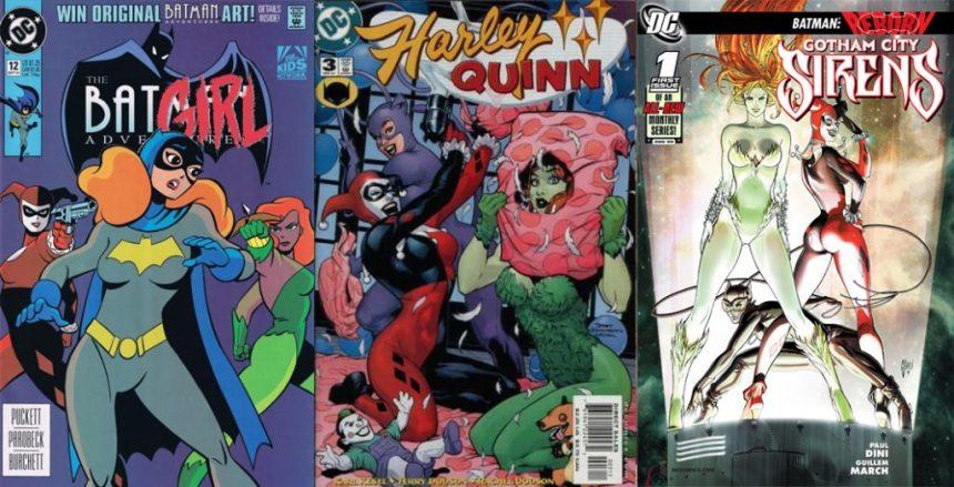 Subject 27 Gotham City Sirens Cbsi Comics