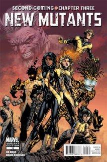 New Mutants Vol. 3 #12C Finch 1:25
