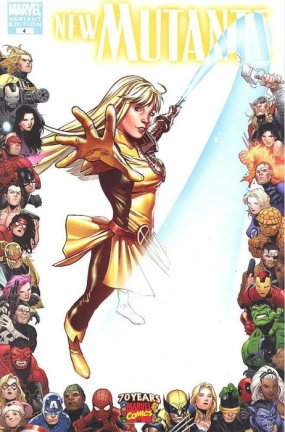 New Mutants Vol.3 #4B Casagrande 1:10