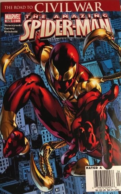 spiderman 529 newsstand