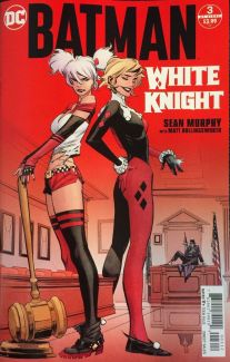 BATMAN WHITE KNIGHT #2 2ND PRINT