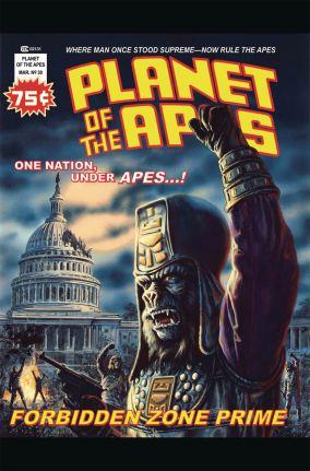 Planet Of The Apes Ursus #1 Cover D Incentive Bob Larkin Unpublished Magazine Variant