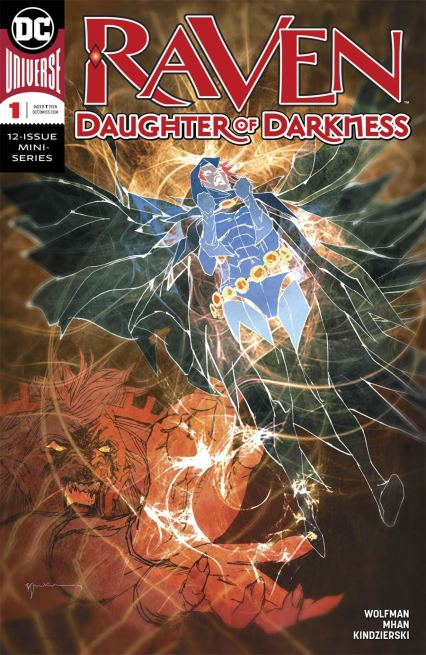 Raven Daughter Of Darkness #1 Cover B Variant Bill Sienkiewicz Cover