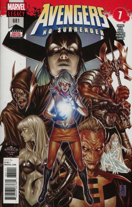 Avengers Vol 6 #681 Cover A Regular Mark Brooks Cover