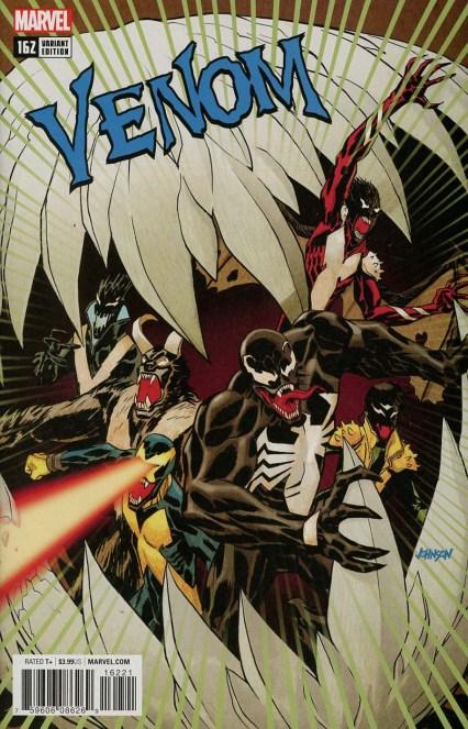 Venom Vol 3 #162 Cover B Incentive Dave Johnson Poison X Variant Cover