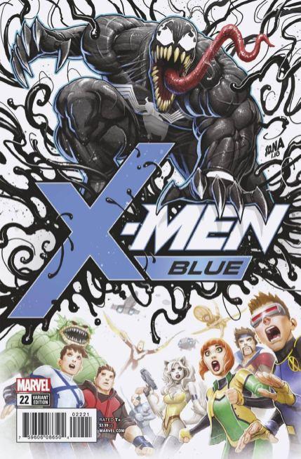 X-Men Blue #22 Cover B Incentive David Nakayama Poison X Variant