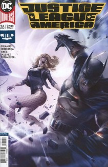 Justice League Of America Vol 5 #26 Cover B Variant Francesco Mattina Cover