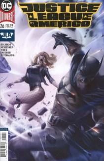 Justice League Of America Vol 5 #26 Cover B Variant Francesco Mattina Cover