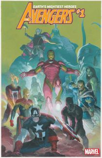 Avengers Vol 7 #1 Cover E Incentive Esad Ribic Variant Cover