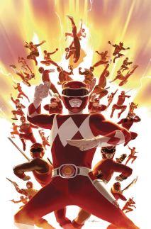 Mighty Morphin Power Rangers (BOOM Studios) #26 Cover C Incentive Carlos Villa Virgin Variant Cover
