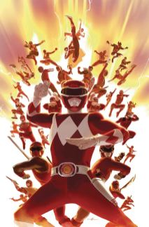 Mighty Morphin Power Rangers (BOOM Studios) #26 Cover C Incentive Carlos Villa Virgin Variant Cover