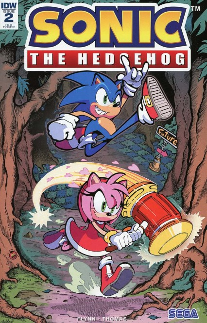 Sonic The Hedgehog Vol 3 #2 Cover D Incentive Jonathan Gray Variant Cover